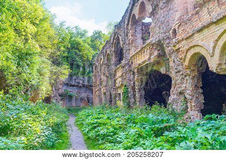 Abandoned Defensive Fort