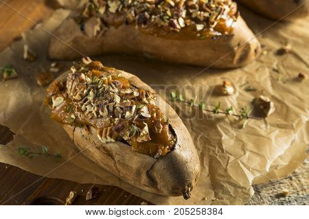 Homemade Twice Baked Sweet Potatoes