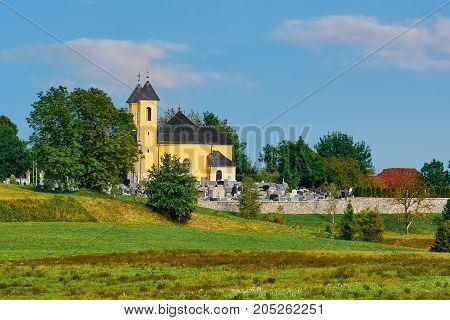 Cemetery In Slovenia