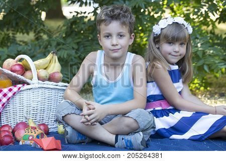 They Have A Picnic