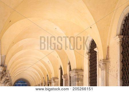 Gallery Prospective In Venice - Italy