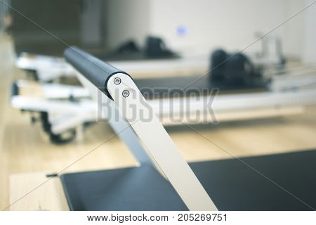 Pilates Machine In Gym Studio