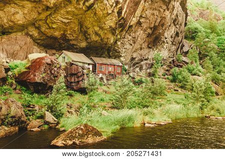 The Helleren Houses In Jossingfjord, Norway