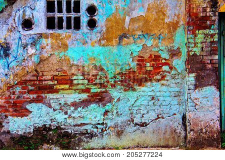 The abstract old building wall textures backgrounds