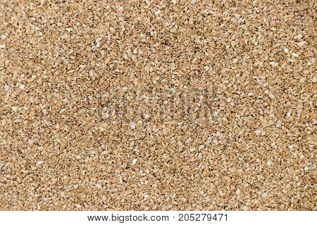 Closed up of brown cork board background