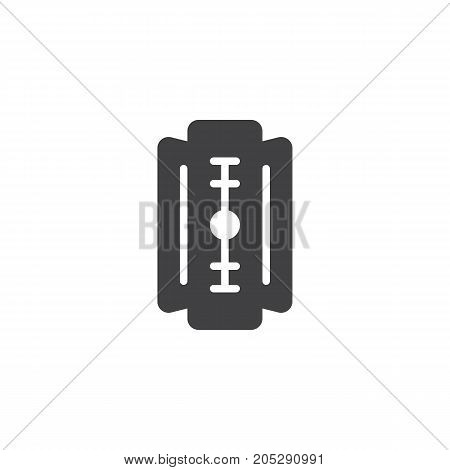 Blade icon vector, filled flat sign, solid pictogram isolated on white. Symbol, logo illustration.