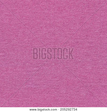 Fuchsia paper with glitter. Seamless square background, tile ready. High quality image.