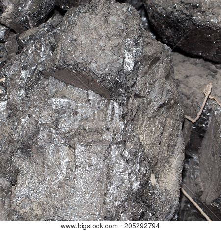 Background of coal . Photo as an abstract background