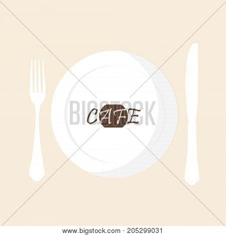 Cafe Cutlery Concept