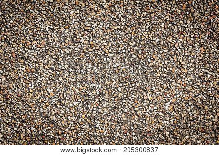Sand stone pebbles texture background for interior design business. exterior decoration and industrial construction idea concept.