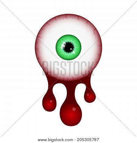 Halloween Blood Eyeball