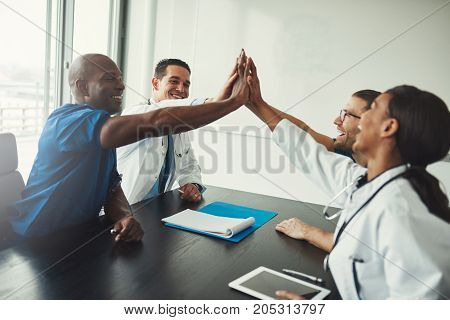 Young Medical Specialists High Five