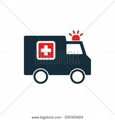 Ambulance Medical Van Icon