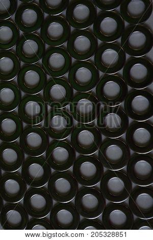 pattern of metal fasteners , metal luster, metal rings