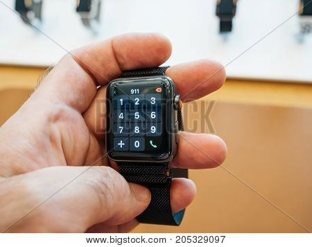 New Apple Watch Series 3 Dial Number Keypad