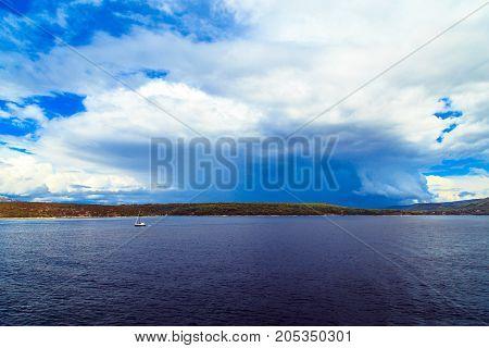Storm In The Sea Of Split