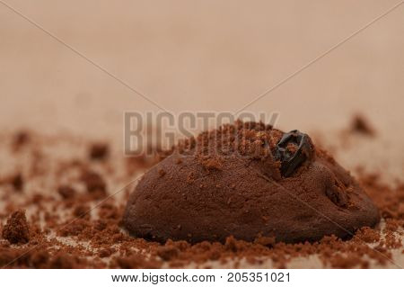 cookies with raisins and crumbs on the napkin