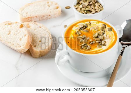 Hot And Spicy Pumpkin  Soup