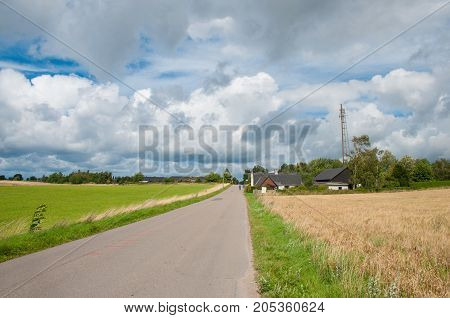 Farmhouse On Island Of Oroe In Denmark