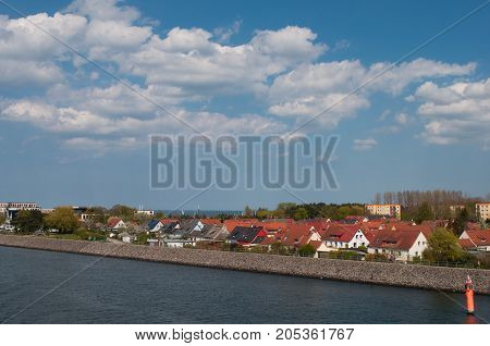 Hohe Dune Town In Rostock In Germany