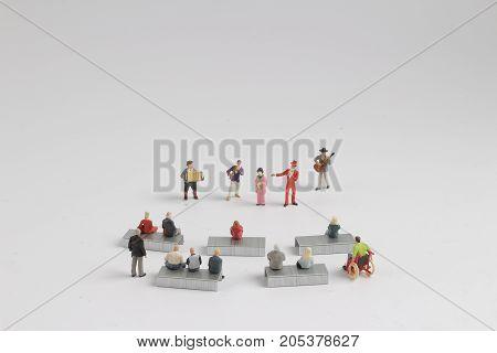 Fun Of Figure In The Miniature World