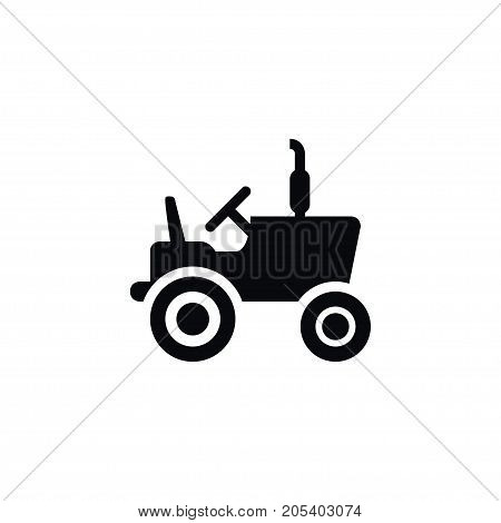Husbandry Vector Element Can Be Used For Agronomy, Combine, Harvester Design Concept.  Isolated Agronomy Icon.