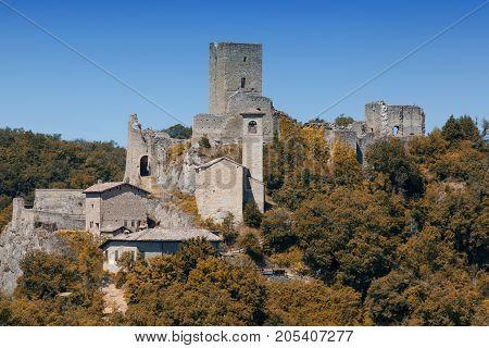Carpineti the ancient castle near Reggio Emilia (Italy)