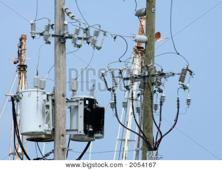 Electrical Lines And Transformers