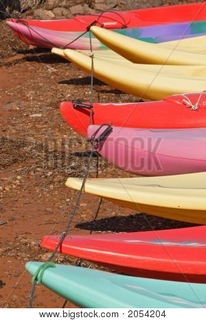 Kayak Lineup