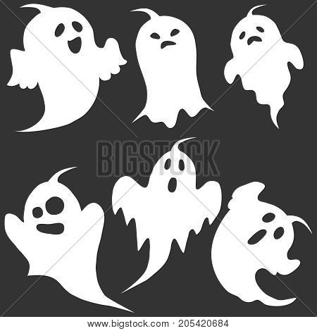 Ghost, The Ghost Icon, Apparition, Shadow, Darkness, Halloween