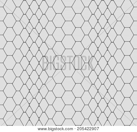 vector seamless graphic texture of snake skin
