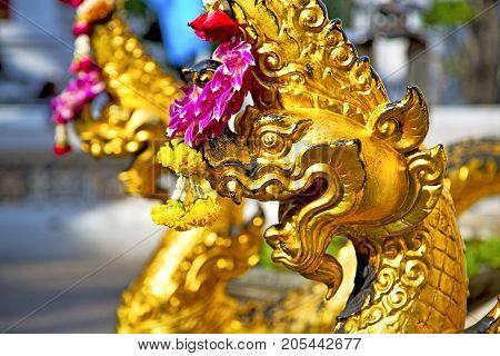 In The Temple  Asia   Thailand Abstract  Palaces