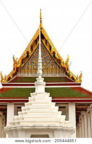 Roof        Bangkok  Thailand Incision Of The