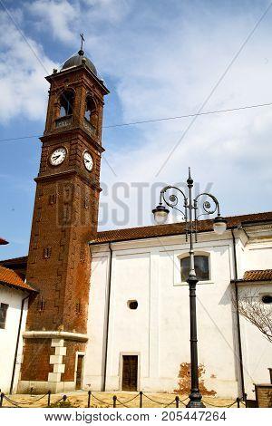 The Santo Antonino  Old   Church  Closed Street Lamp