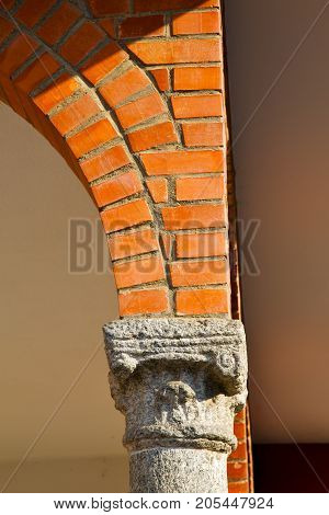 Wall Milan  Italy Old     Concrete Wall  Brick   The    Abstract  Background  Stone