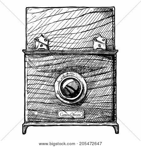 Illustration Of Camera Obscura