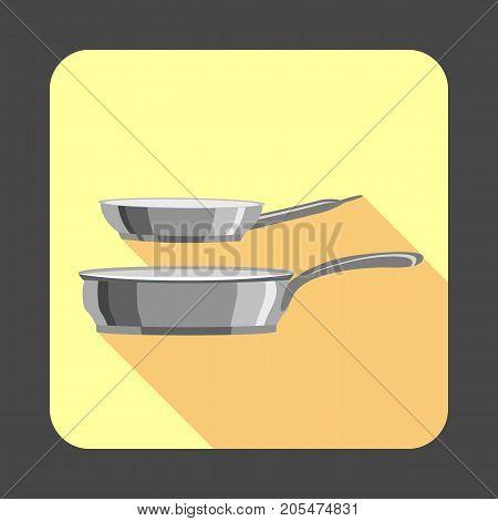 Pan set concept background. Cartoon illustration of pan set vector concept background for web design