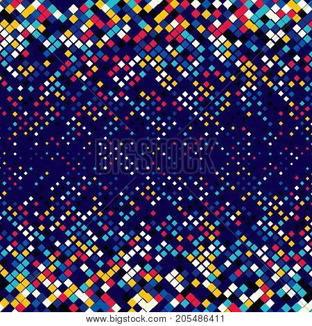 Abstract background with geometric semitones. The texture of the shapes of various sizes. Optical illusions.
