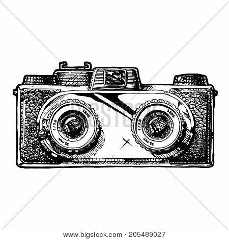 Illustration Of Stereo Camera