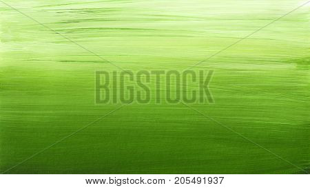 Pastel Green Light Brushed Abstract Background Painting
