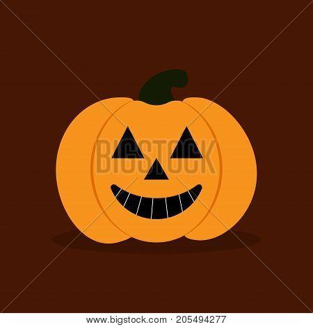 happy halloween pumkin halloween pumpkin with happy smile