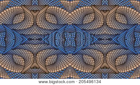 Abstract background in blue tones raster image can be used in the design of your site design textile printing industry in a variety of design projects