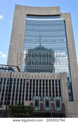 Federal Courthouse in Minneapolis, Minnesota, in the USA