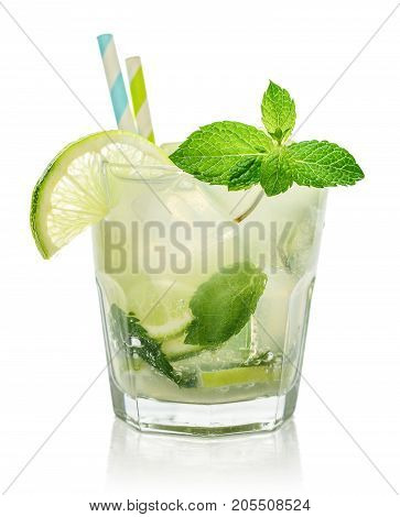 Glass Of Mojito Cocktail