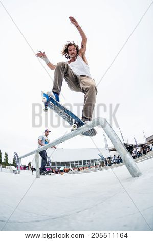 Pedro Fangueiro During The 4Th Stage Dc Skate Challenge