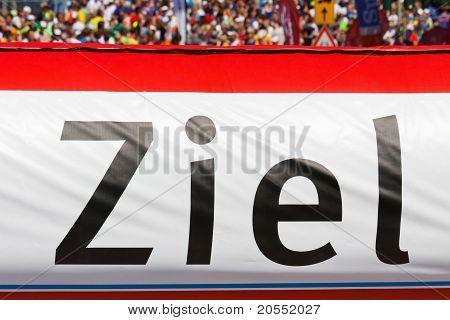Finish Line Banner (ziel)