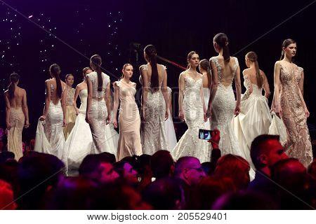 Fashion Show Runway Beautiful Dresses
