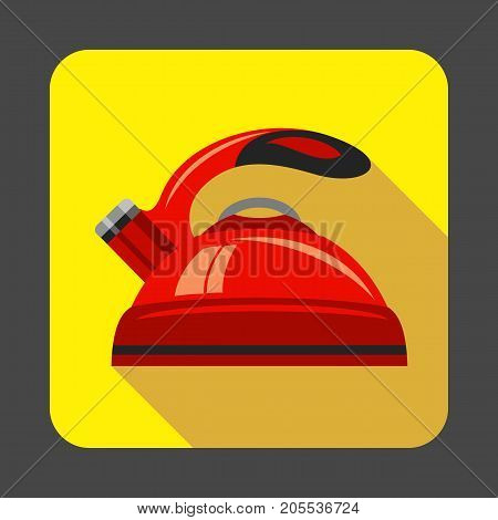 Kettle concept background. Cartoon illustration of kettle vector concept background for web design