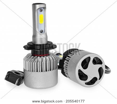 Light Led Bulbs For Car Lamps. Car Led For Halo Rings And Angel Eyes Lighting Effect.