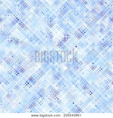 Ligth blue abstract pattern in low poly style.